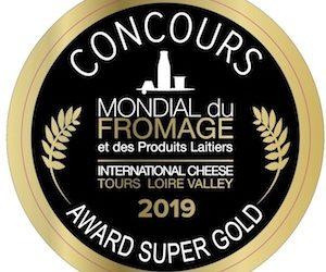 SUPER GOLD  SALON MONDIAL DU  FROMAGE EN FRANCE
