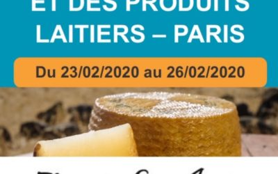 SALON DU FROMAGE PARIS 2020